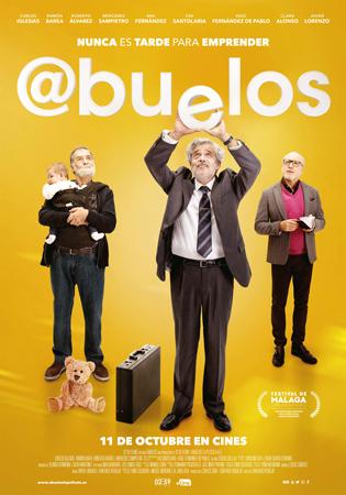 """""""@buelos"""" pelikularen kartela"""