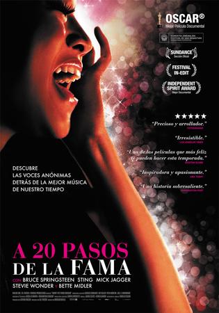 """Cartel de la película """"A 20 pasos de la fama"""""""