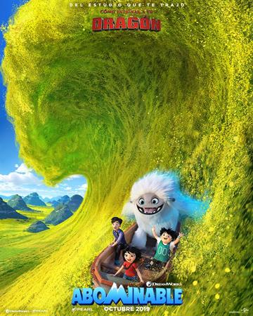 """Cartel de la película """"Abominable"""""""