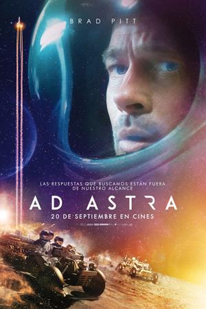 """""""Ad Astra"""" pelikularen kartela"""