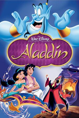 """Cartel de la película """"Aladdin"""""""