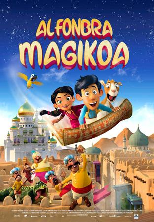 """Cartel de la película """"Alfonbra Magikoa"""""""