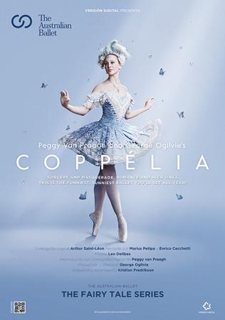 """Cartel de la proyección """"Coppélia"""""""