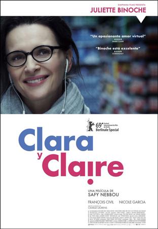 """Cartel de la película """"Clara y Claire"""""""