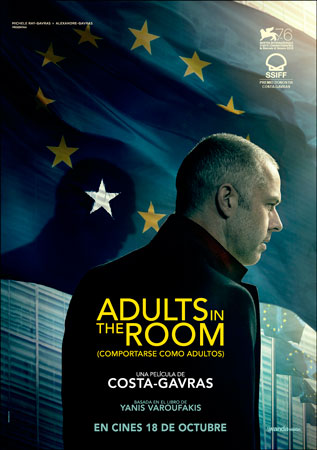 """Adults in the Room (Comportarse como adultos)"" pelikularen kartela"