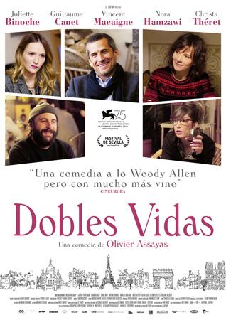 """Cartel de la película """"Dobles vidas"""""""