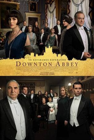 """""""Downton Abbey"""" pelikularen kartela"""