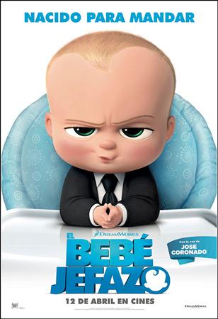 """Cartel de la película """"El Bebé Jefazo"""""""