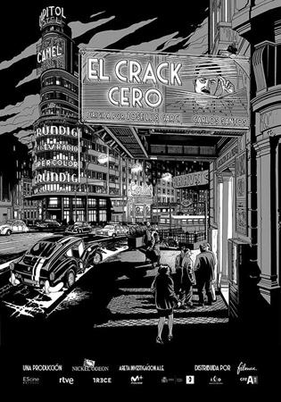 """Cartel de la película """"El crack Cero"""""""