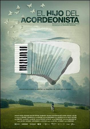 """Cartel de la película """"El hijo del acordeonista"""""""