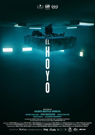 """""""El Hoyo"""" pelikularen kartela"""