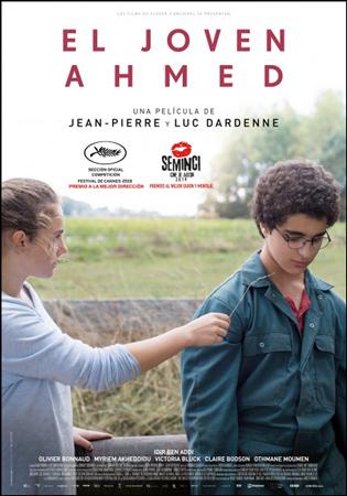 """Cartel de la película """"El joven Ahmed"""""""