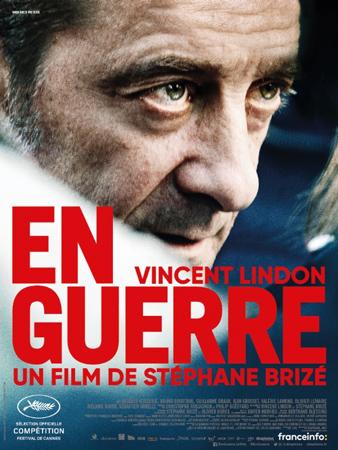 """Cartel de la película """"En Guerre"""""""