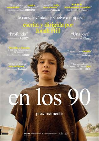 """Cartel de la película """"En los 90"""""""