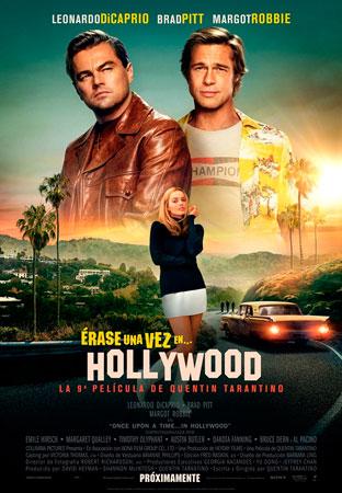"""""""Erase una vez en  Hollywood"""" pelikularen kartela"""