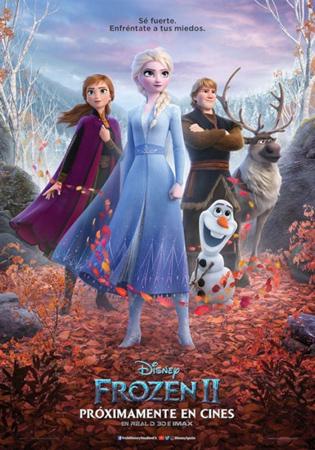 """Cartel de la película """"Frozen II"""""""
