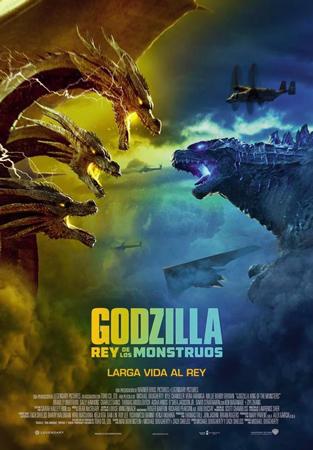 """Cartel de la película """"Godzilla: Rey de los monstruos"""""""