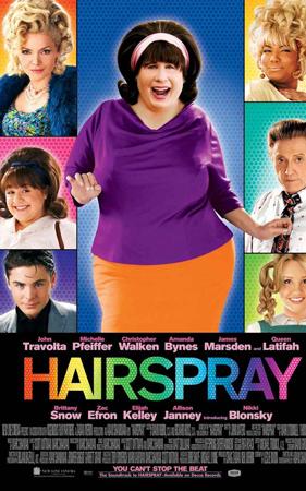 """Hairspray"" pelikularen kartela"