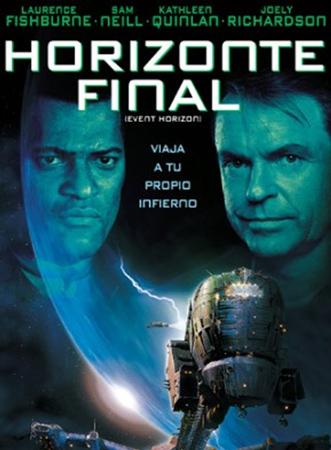 """Cartel de la película """"Horizonte final"""""""