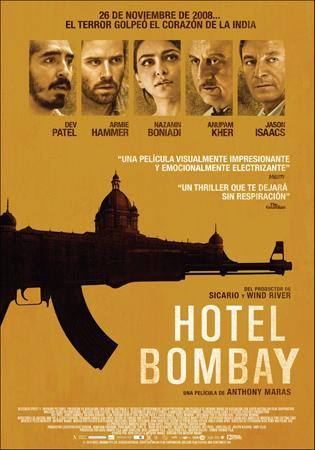 """Cartel de la película """"Hotel Bombay"""""""