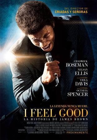 """""""I Feel Good"""" pelikularen kartela"""