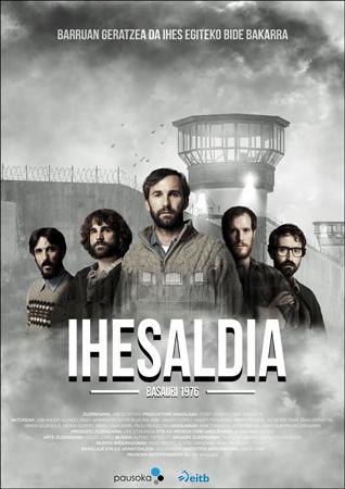 """Cartel de la película """"Ihesaldia"""""""