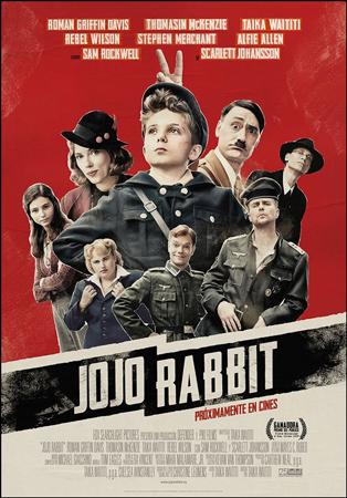 "Cartel de la película ""Jojo Rabbit"""