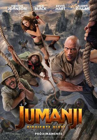 """Cartel de la película """"Jumanji: Siguiente nivel"""""""