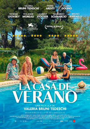 """La casa de verano"" pelikularen kartela"