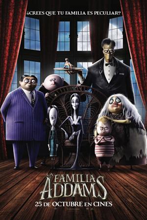 """Cartel de la película """"La familia Addams"""""""