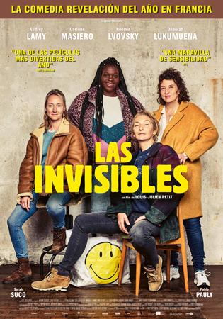 """Cartel de la película """"Las invisibles"""""""