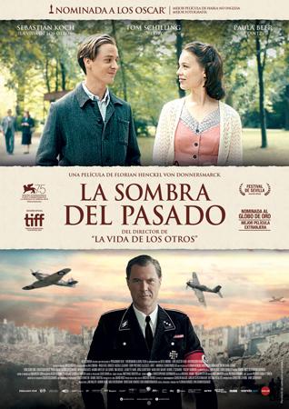 """Cartel de la película """"La sombra del pasado"""""""