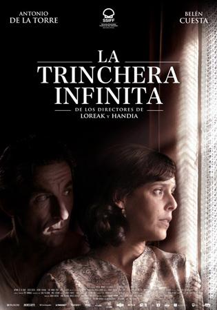 """Cartel de la película """"La trinchera infinita"""""""