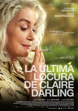 """Cartel de la película """"La última locura de Claire Darling"""""""
