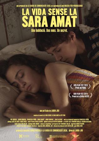 """Cartel de la película """"La vida sin Sara Amat"""""""