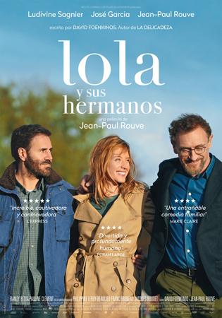 """""""Lola y sus hermanos"""" pelikularen kartela"""