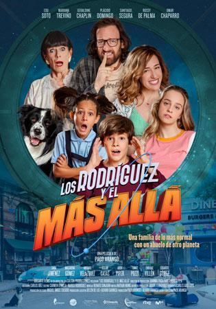 """Cartel de la película """"Los Rodríguez y el más allá"""""""