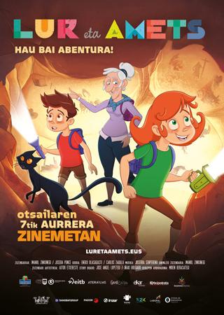 """Cartel de la película """"Lur eta Amets"""""""