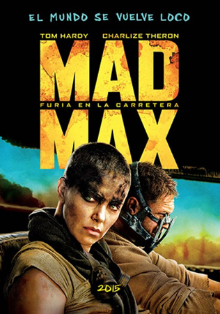 """Mad Max: Furia en la carretera"" pelikularen kartela"