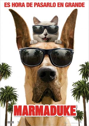 "Cartel de la película ""Marmaduke"""
