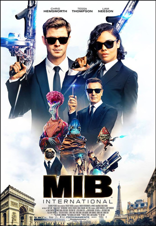 "Cartel de la película ""Men in Black International"""