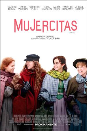 """Cartel de la película """"Mujercitas"""""""
