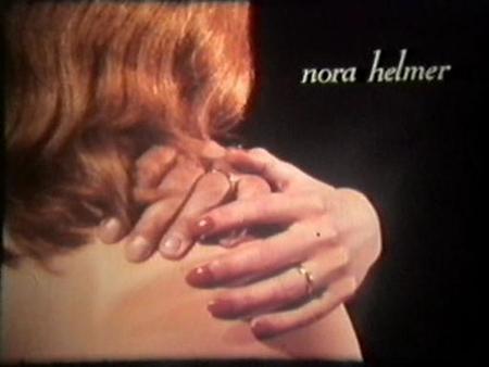 """Cartel de la película """"Nora Helmer"""""""