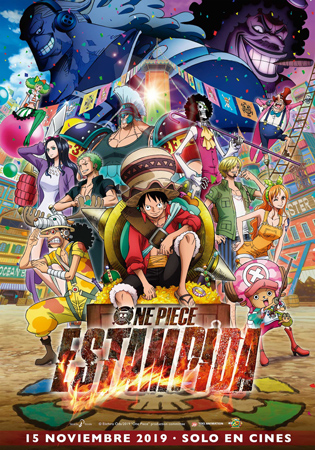 "Cartel de la película ""One Piece: Estampida"""