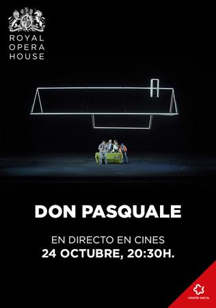 """""""Don Pasquale"""" proiekzioaren kartela"""