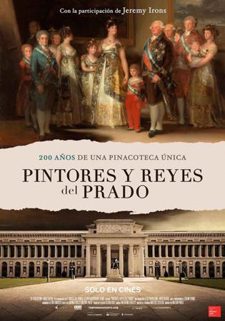 """""""Pintores y Reyes del Prado"""" pelikularen kartela"""