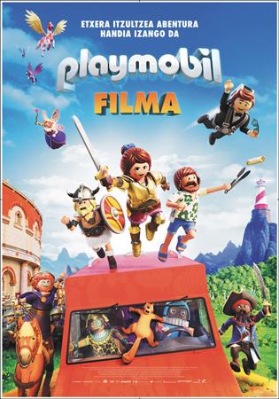 "Cartel de la película ""Playmobil: Filma"""