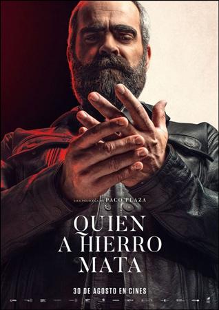 """Cartel de la película """"Quien a hierro mata"""""""