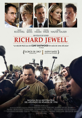 """Richard Jewell"" pelikularen kartela"