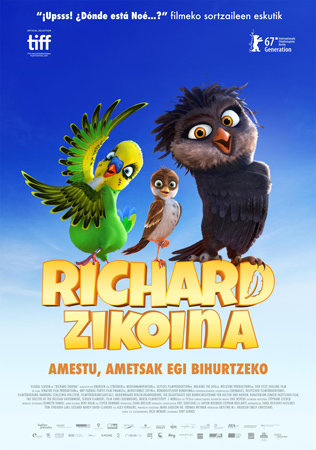 """""""Richard Zikoina"""" pelikularen kartela"""